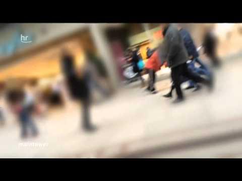 Vorsicht vor penetranten Bettler Banden in Frankfurt