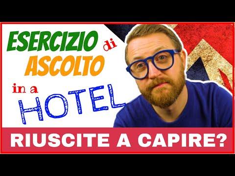 IN A HOTEL - ESERCIZIO DI ASCOLTO - Hotel English