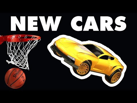 Competitive HOOPS Highlights with NEW CARS! (Rocket League) thumbnail
