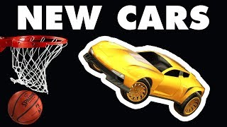 Competitive HOOPS Highlights with NEW CARS! (Rocket League)