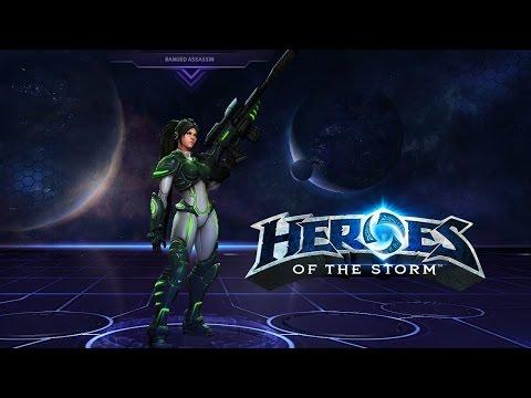 Heroes of the Storm - Nova - Back to huge amounts of burst damage!