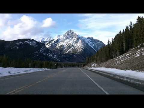 Alberta's Kananaskis Country: Highway 40 Drivelapse Dashcam