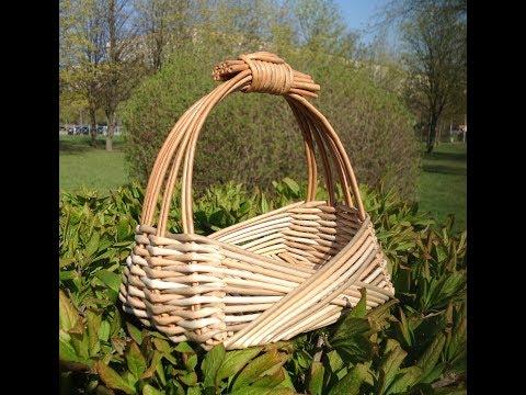 #29 Корзинка в стиле Zarzo. Мастер-класс от А до Я. DIY Basket Weaving Tutorial. ENGLISH SUBTITLES.