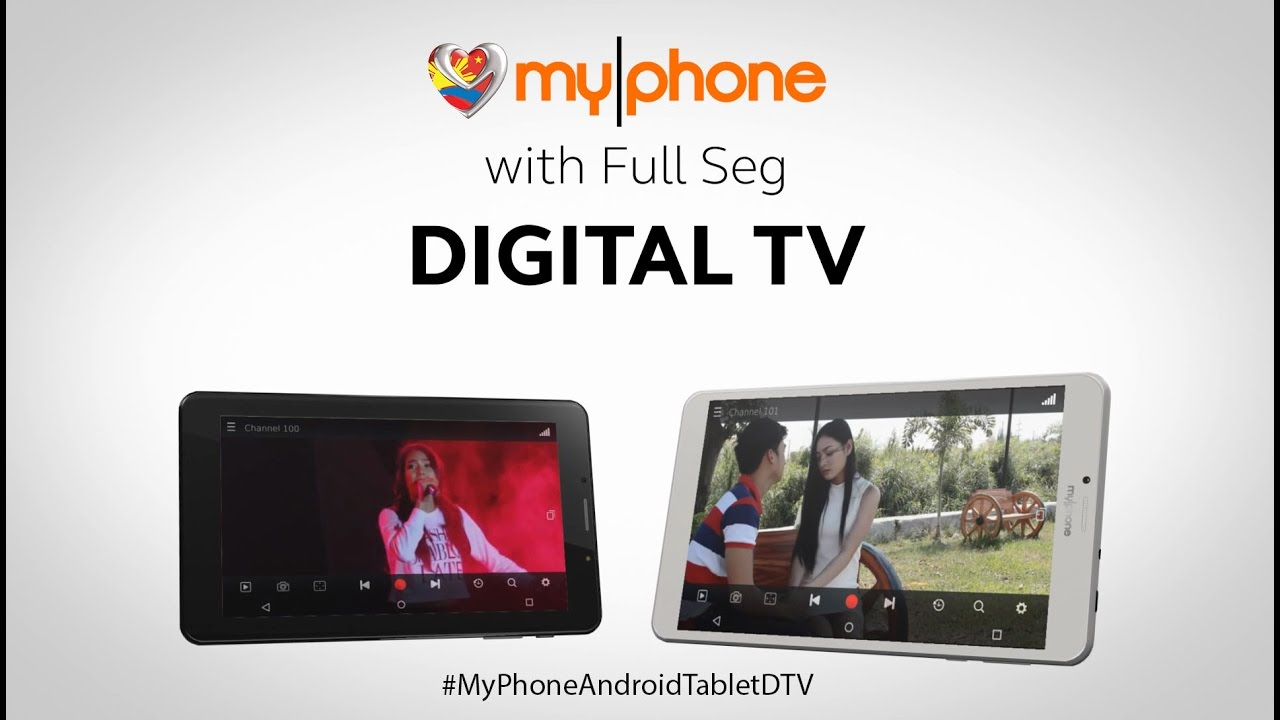 MyPhone Android Tablet with Full Seg DIGITAL TV