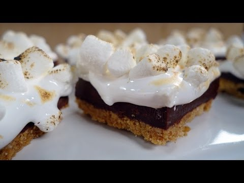 How to make smores bars recipe