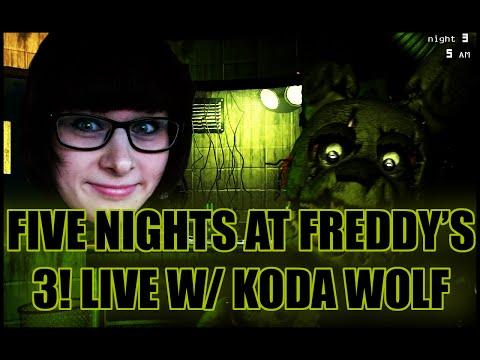 TIPSY FIVE NIGHTS AT FREDDY'S 3! LIVE W/ KODA WOLF