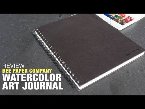 Review: Watercolor Journal from Bee Paper Company