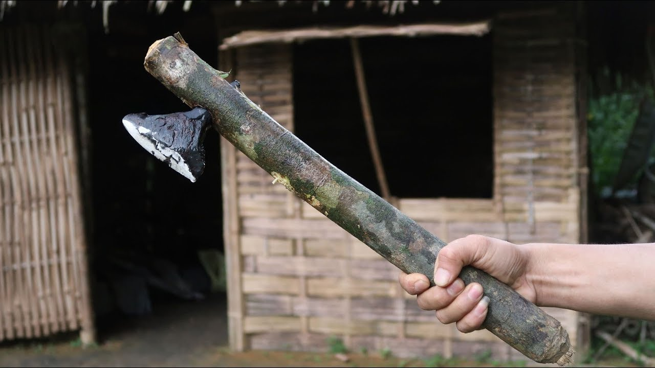 Primitive Skills: Making Axe from Iron Ore - Part2