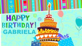 Gabriela - Animated Cards - Happy Birthday