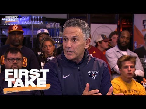 LeBron James' High School Coach Joins First Take | First Take | June 9, 2017