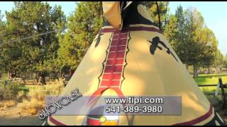 Native American Tipis from Nomadics Tipi Makers