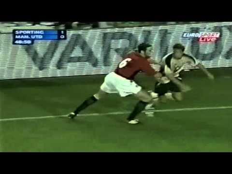 Cristiano Ronaldo Vs Manchester United Home (English Commentary) - 03-04 By CrixRonnie
