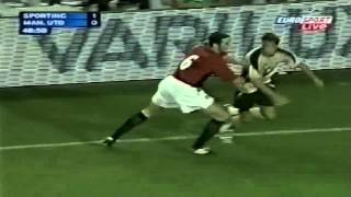 Cristiano Ronaldo Vs Manchester United Home (English Commentary) - 03-04 By CrixRonnie