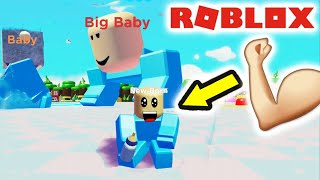 I punched the biggest baby in Roblox