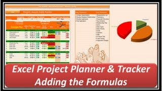Excel -- Project Planner And Tracker -- Microsoft Excel 2013 - Part 2