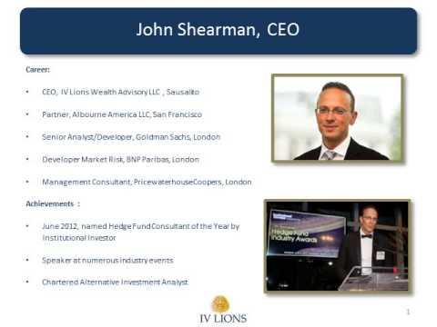 IV Lions John Shearman Biography (www.IVLions.com)