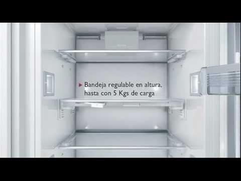 frigorficos integrables neff con vitafresh