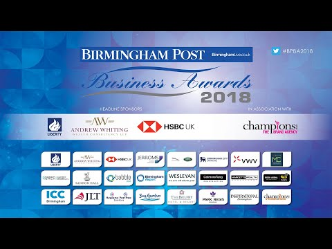 Birmingham Post Business Awards 2018