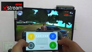 Airtel Xstream Set Top Box Gameplay | GTA Liberty City Stories Gameplay on Airtel Xstream