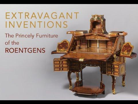 Мебель как искусство | Деревянный письменный стол с механизмами.