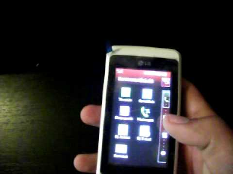 LG kp501 iphone mode