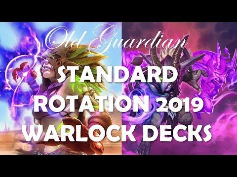 Hearthstone Standard rotation 2019 - Warlock decks, cards, and archetypes