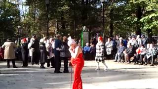"""Бабушки зажигают в парке""""Сокольники"""" 2013-10-06"""