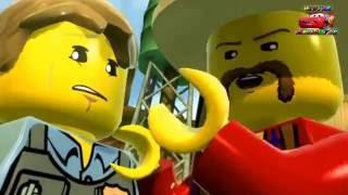 Мультик игра Лего Сити - 15 серия Мультфильмы про машинки и полицейского #Лего