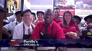 Portillo's Lemon Cake on Jimmy Kimmel Live