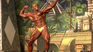 Milton Holloway Jr - Competitor No 22 - Final - IFBB Class 212 - Dallas Europa 2014