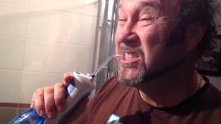 """""""Waterpik"""" water flosser!"""