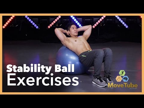 Stability Ball Workout for Beginners with Cesar Cipriano