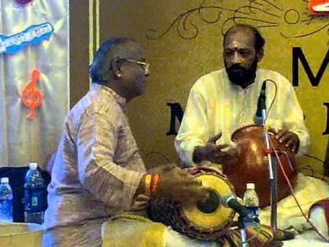 Misra chapu talam: Maestro Srimushnam Raja Rao and Maestro Palghat S.V