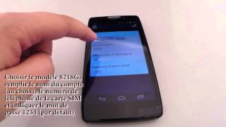 HD LINE Parametrage Application Alarme