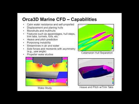 Orca3D Marine CFD Webinar