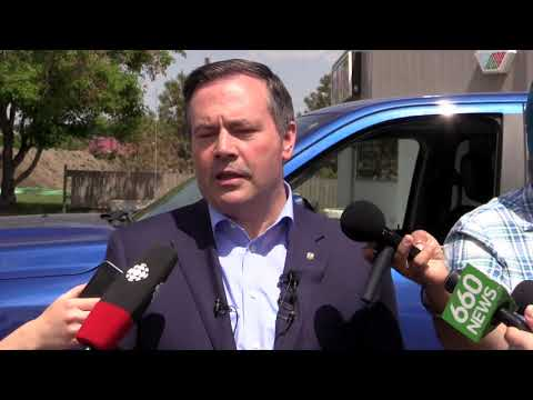 """A great day for Albertans"", UCP leader Jason Kenney talks about Doug Ford's majority win"