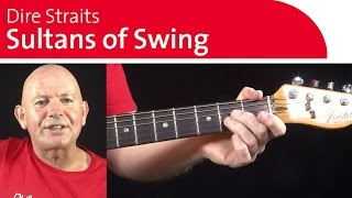 Sultans of Swing Guitar Lesson & Guitar Chords | String Bending