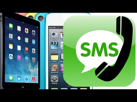 Convert iPod iPad into an iPhone- make/receive text message/phone calls