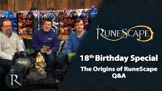 RuneScape 18th Birthday - The Origins of RS Q&A