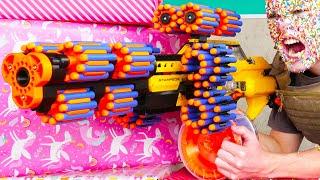 Nerf War: Birthday Battle