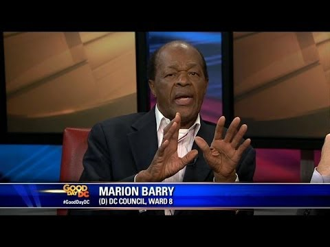 Marion Barry talks about his new autobiography
