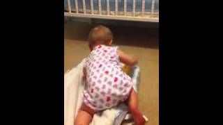 Download Video Madeline trying to avoid a diaper change MP3 3GP MP4