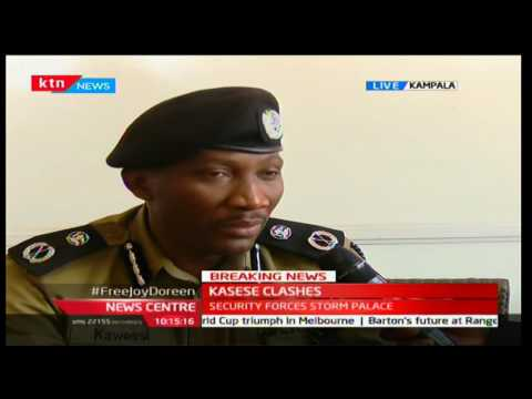 BREAKING NEWS: Ugandan Police to charge king of Rwenzururu kingdom