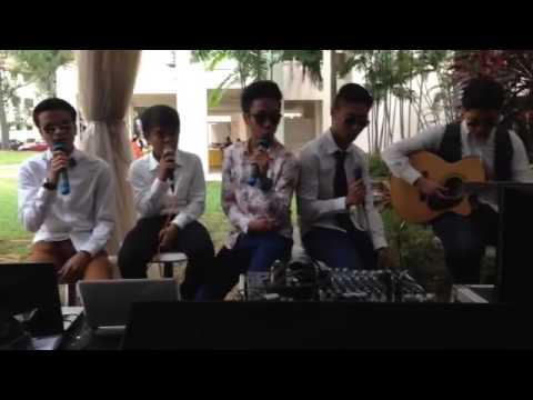 The Young Bros - Belaian jiwa( live wedding performance cover)