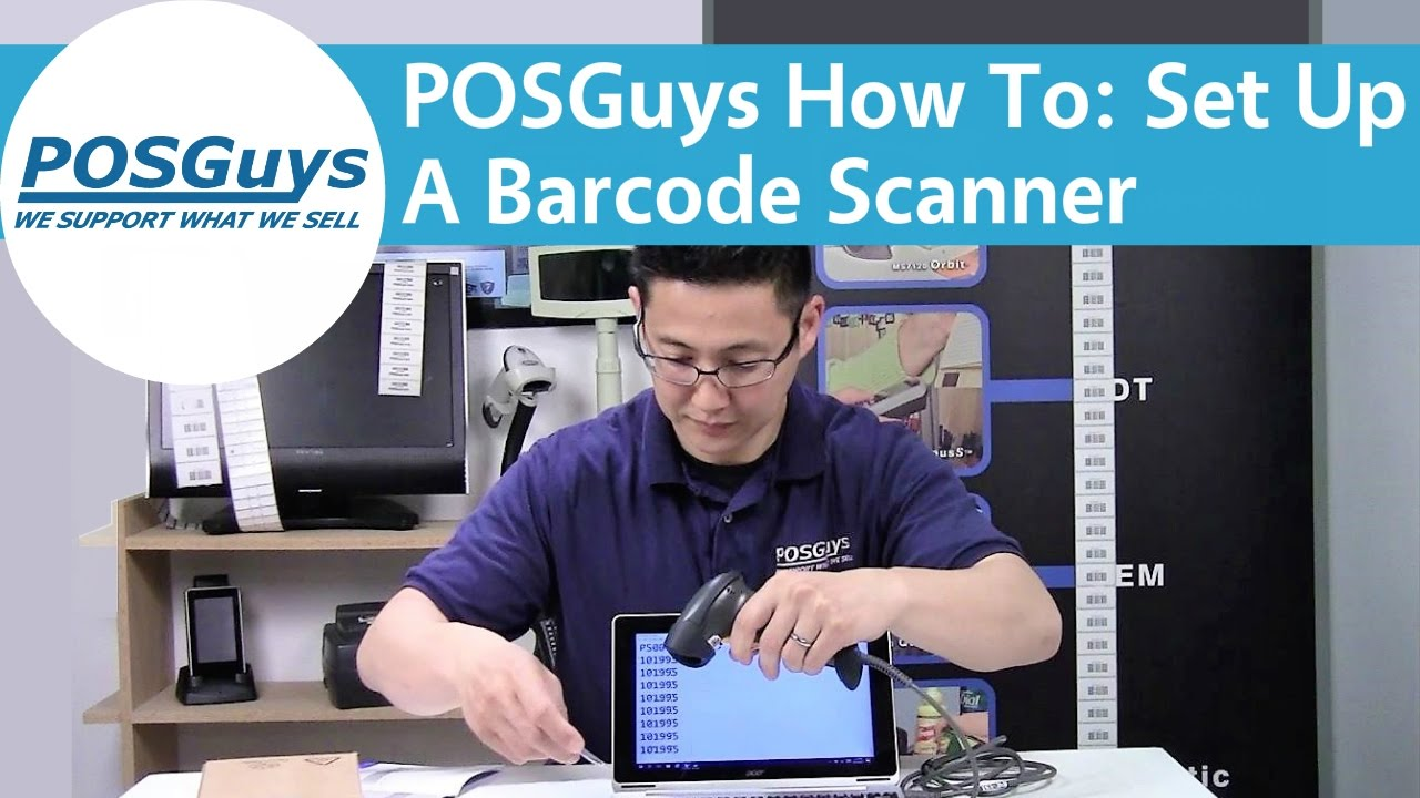 POSGuys How To: Set Up A Barcode Scanner