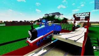 THOMAS AND FRIENDS THE RAILWAY ROLLER COASTER ROBLOX PARTIE 5