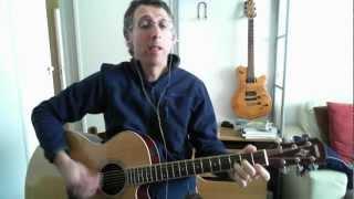 Por Isso Corro Demais (Roberto Carlos / Erasmo Carlos), cover de guitarra e voz.