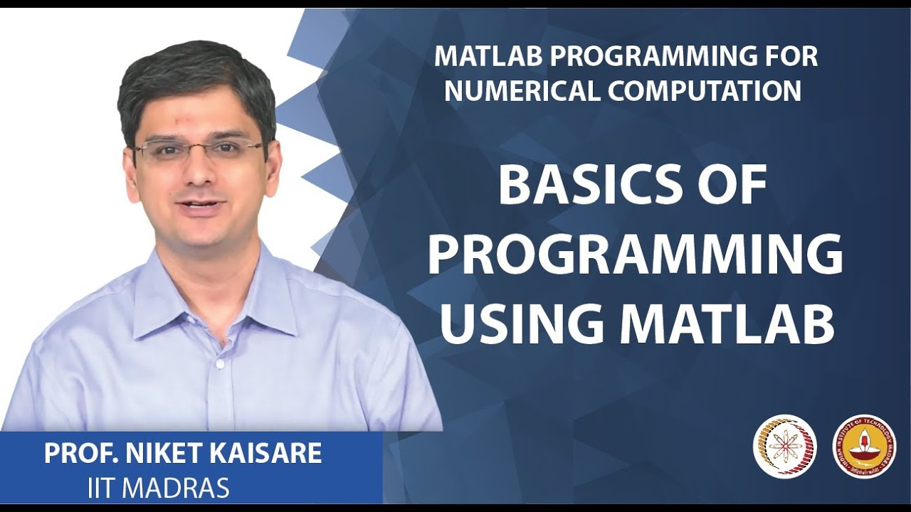 NPTEL :: Chemical Engineering - NOC:MATLAB Programming for Numerical