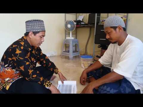 Alumni Pondok Pesantren Al-Ihsan Jrengoan bertawassul dengan amal sholeh berupa shodaqoh produktif