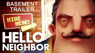 Hello Neighbor Basement Gameplay (Trailer #2)